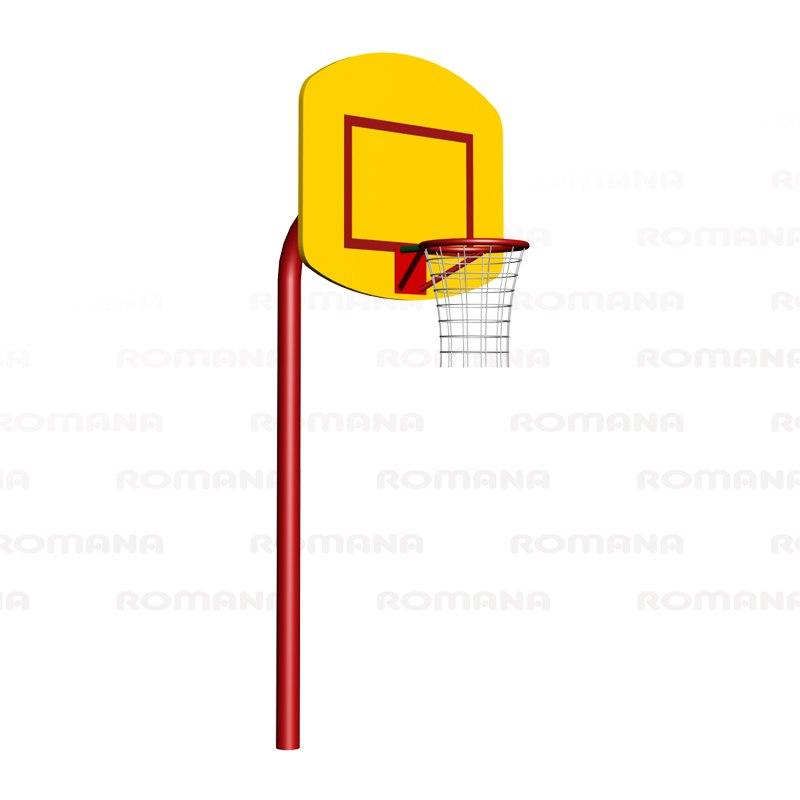 203.12.01 Щит баскетбольный малый 1214х870х2131